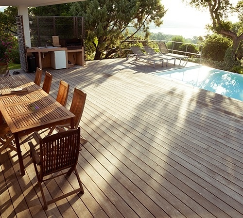LAME TERRASSE COLORIS MARRON 27 X 145mm